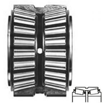 TIMKEN EE752300-90040  Conjuntos de rolamentos de rolos cônicos